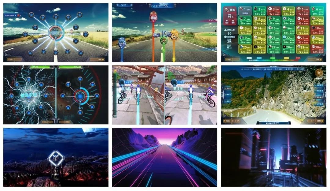 智能动感单车系统-六大模式