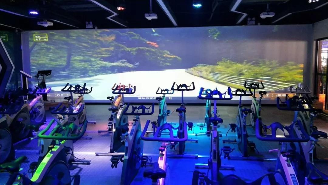 智能动感单车系统-实景模式