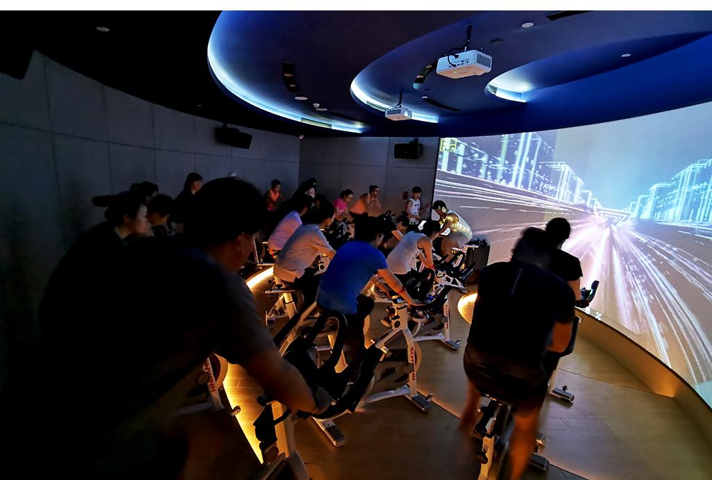 3D智能动感单车房